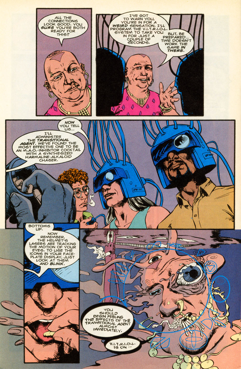 Read online Animal Man (1988) comic -  Issue #85 - 21