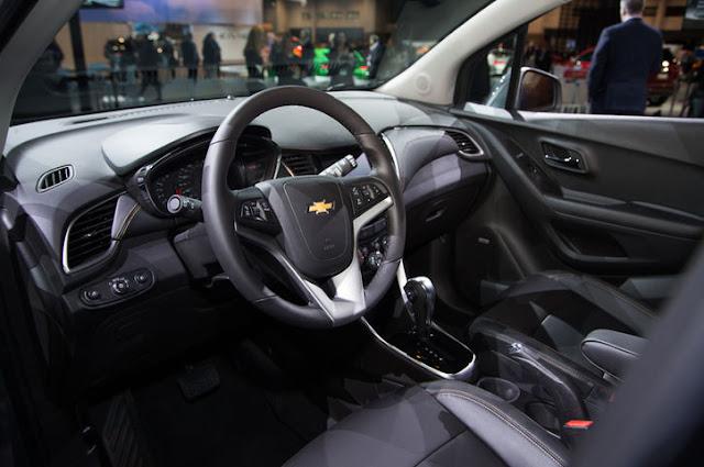 SUV Chevrolet Trax 2017 chính thức ra mắt tại Việt Nam giá 769 triệu đồng