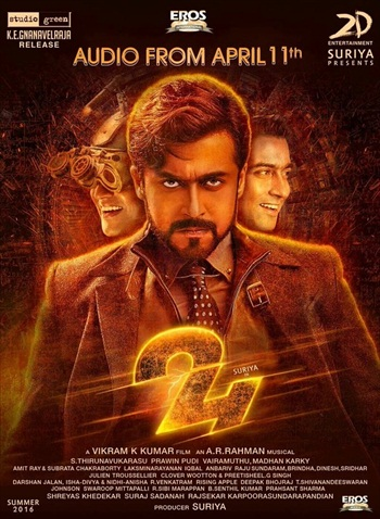 24 – The Time Story (2016) Dual Audio DD 2.0 [Hindi – Tamil] HDRip ESubs 1.6GB