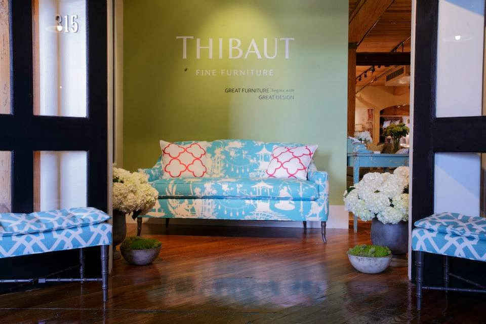 One Of My Absolute Favorite Showrooms To Visit At High Point Market Is The  Thibaut Showroom. The Company Has Been Creating Beautiful Fabrics And  Papers ...