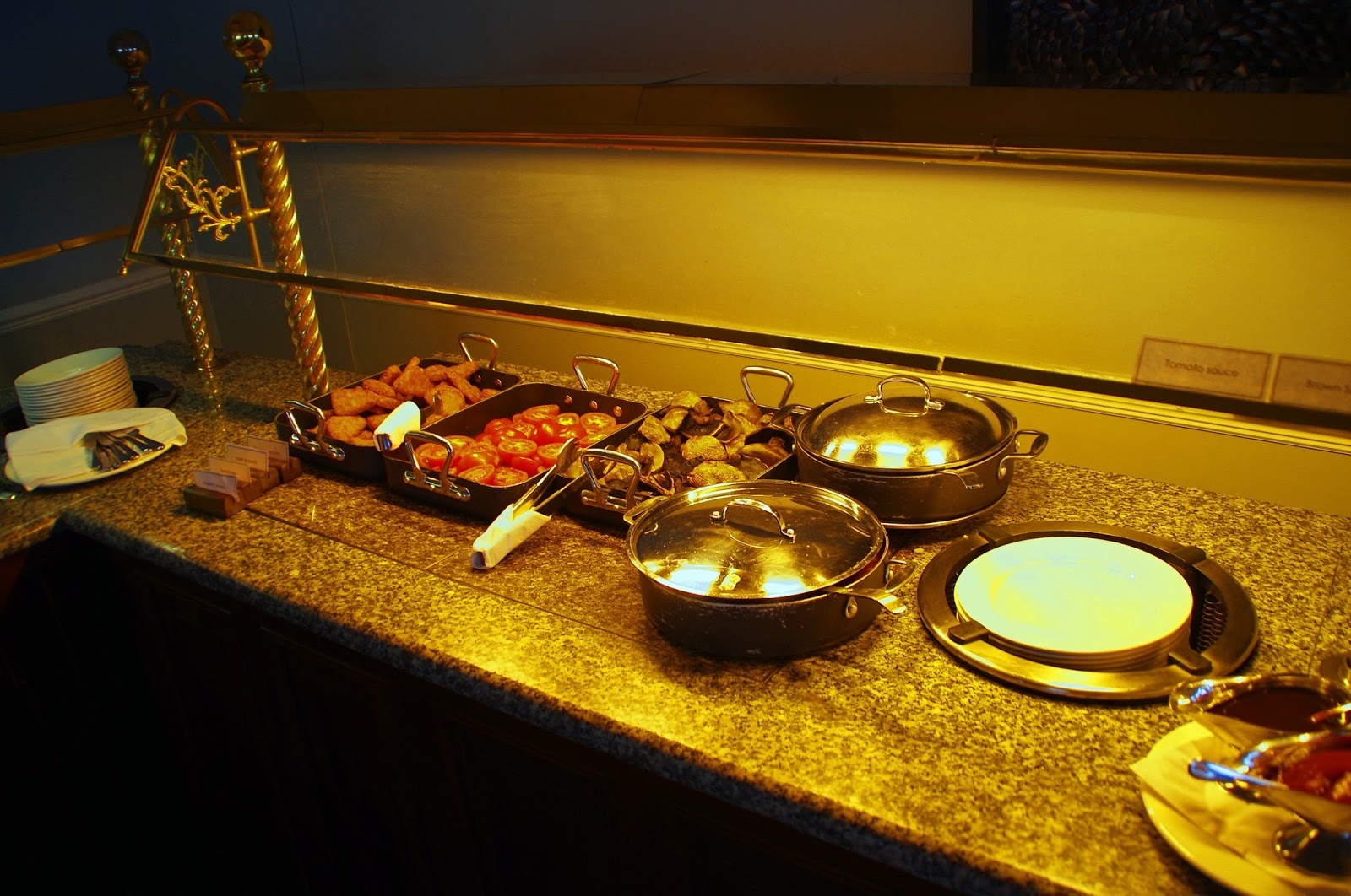 Headland Hotel Newquay Cornwall Breakfast