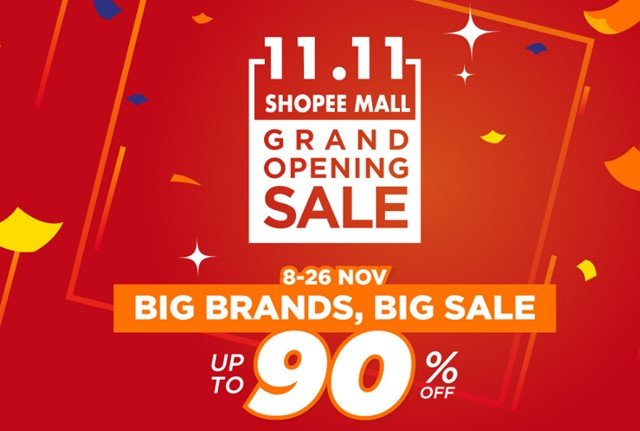 11.11 Shopee Mall - Shopee.co.id