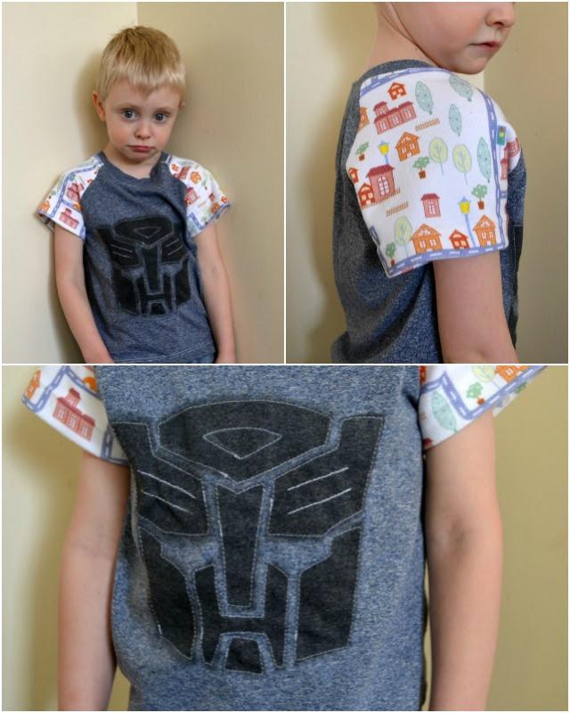 Fabric GIVEAWAY and Kids' Raglan Tees