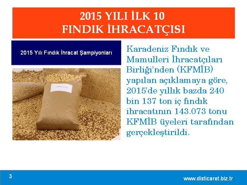 2015 yılında en fazla fındık ihraç eden 10 firma, resim 3