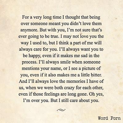 A love letter to my ex boyfriend