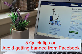 The Top 5 Quick Tips to Avoid Getting Blocked on Facebook
