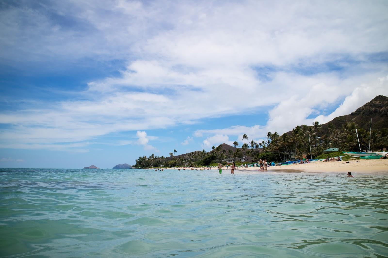 Lanai Beach, Oahu, Hawaii