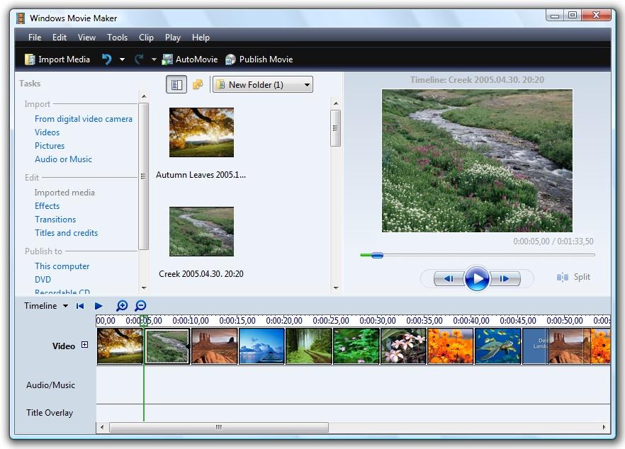 ACOY PANDAMOND: Windows Movie Maker 6.0 [Windows 7/Vista Compatible]