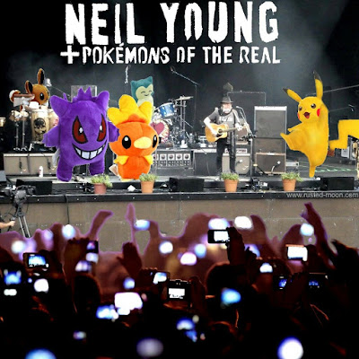 Neil Young + Pokemons of the Real