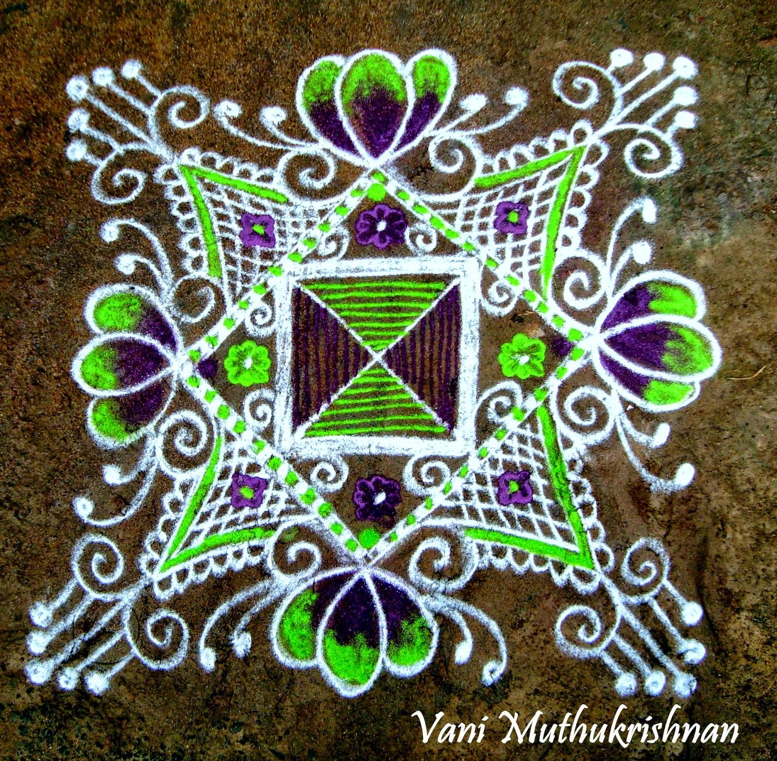 Kolam Designs 33