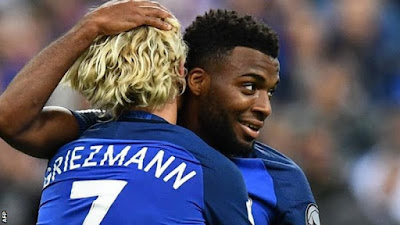 Highlight Perancis 4-0 Belanda, 31 Agustus 2017