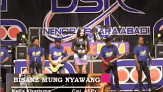 Lirik Lagu Bisane Mung Nyawang - Nella Kharisma