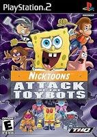 Nicktoons: Attack of The Toybots (PS2) 2007