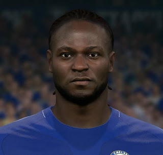 PES 2017 Faces Victor Moses by Sameh Momen