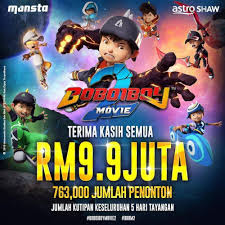 OST Boboiboy The Movie 2 (Lirik Lagu Fire And Water-Faizal Tahir)