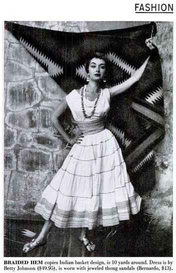 Beyond Buckskin Native Fashion And The Squaw Dress
