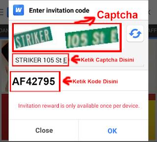 premi kode baru