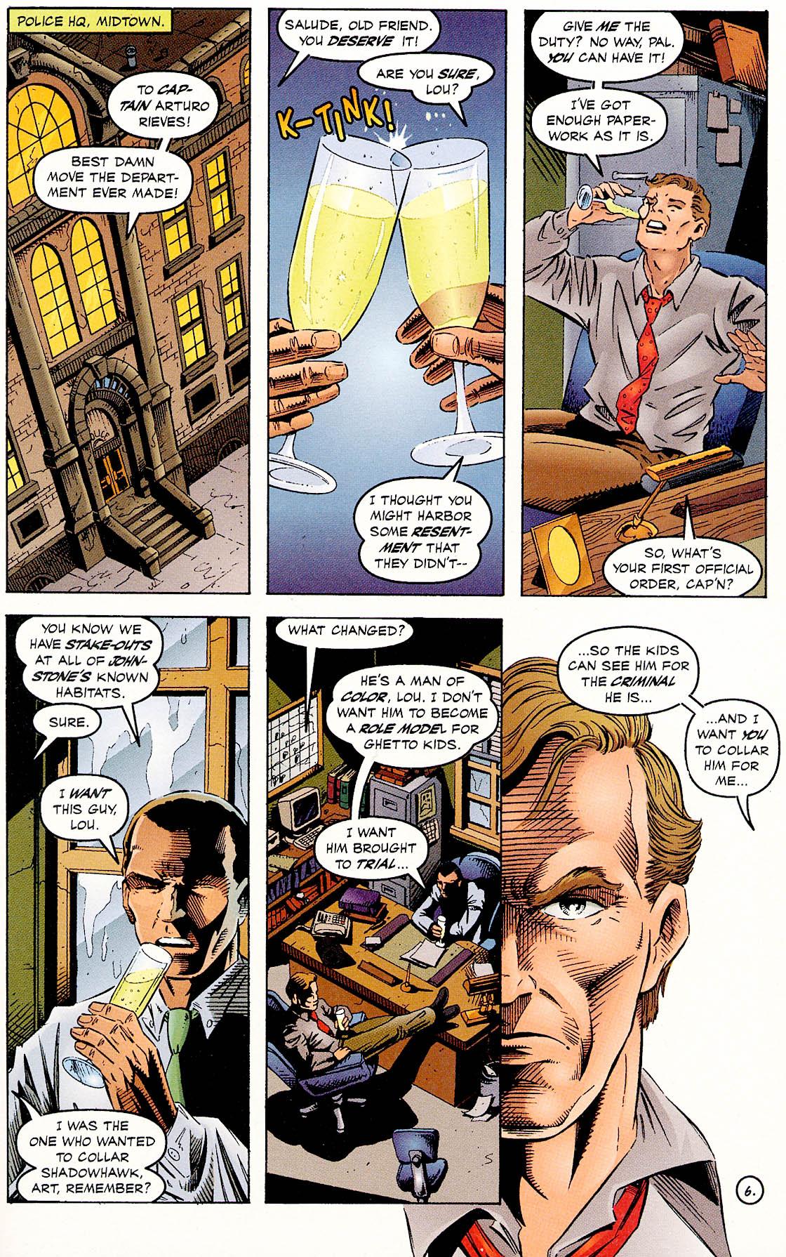 Read online ShadowHawk comic -  Issue #18 - 8
