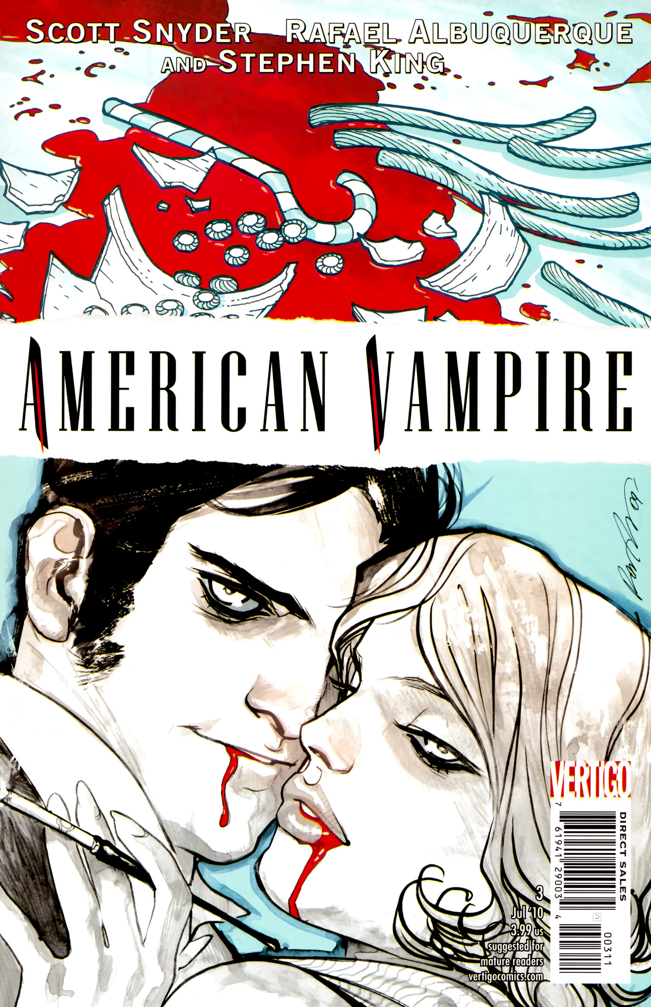 American Vampire issue 3 - Page 1