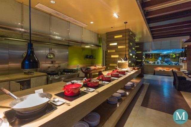 Filipino Breakfast Buffet at New World Makati Hotel
