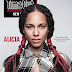 ALICIA KEYS COVERS 'TIME OUT' MAGAZINE MAKE UP FREE