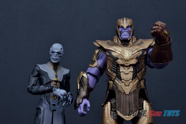 Marvel Legends Avengers Endgame Armored Thanos LEFT LEG BAF from Ebony Maw
