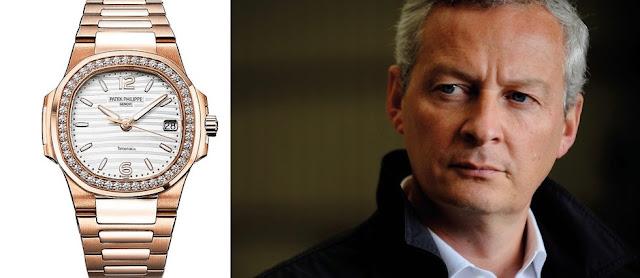 Bruno Le Maire a expliqué ne pas avoir gardé une Patek Philippe à 85 000 euros offerte par l'émir du Qatar. Et c'est aussi vrai que rare.