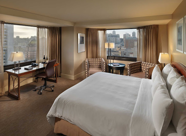 Parc 55 San Francisco offers a sleek boutique hotel experience with spacious rooms, near Union Square, in the heart of downtown San Francisco.