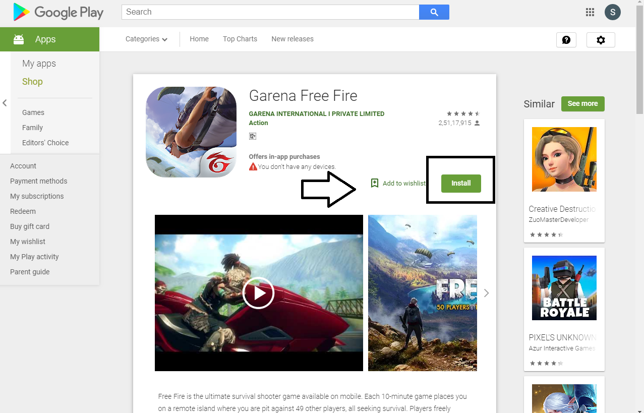 Download Free Fire on PC Without Bluestacks - ( Memu Player)
