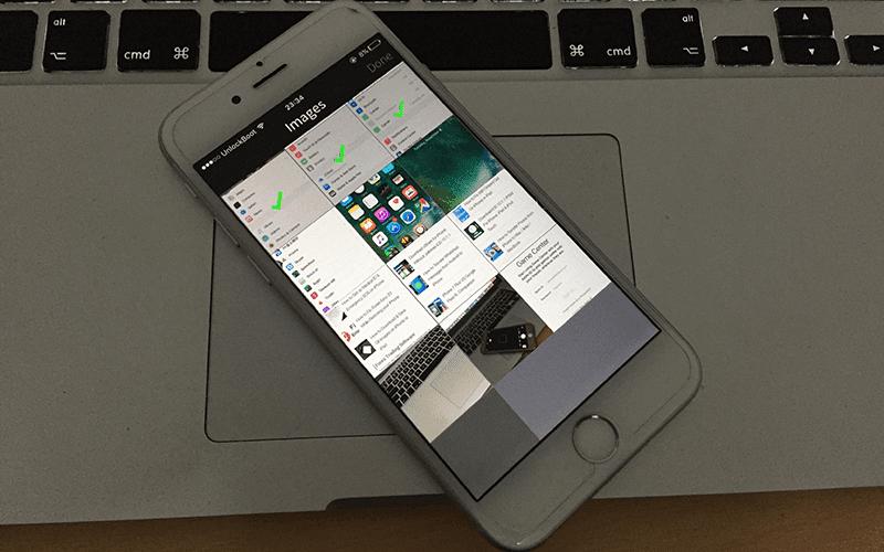 take long screenshot on iphone
