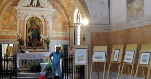 2005 Settembre in mostra nella Chiesetta dell'Ospizio a Piovene Rocchette