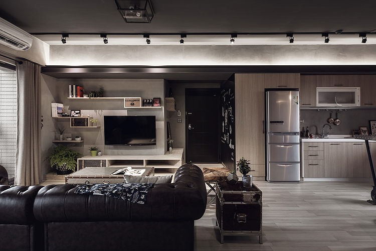 This Masculine Style Apartment Interior Design Read Article