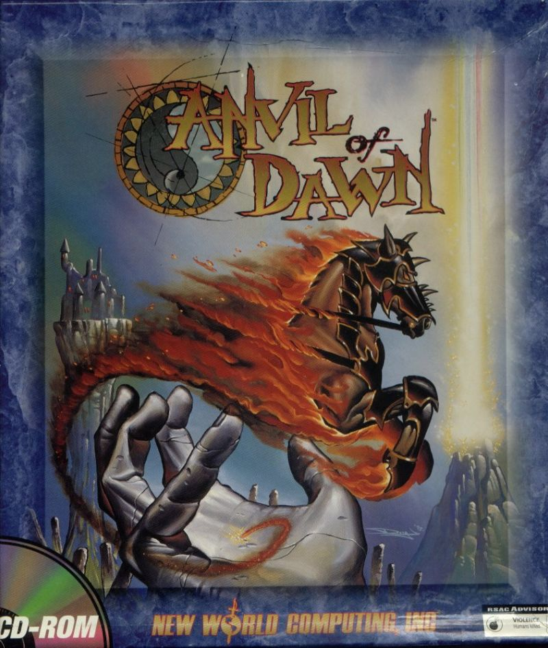 old games journal: Anvil of Dawn (1995): Initial Impressions
