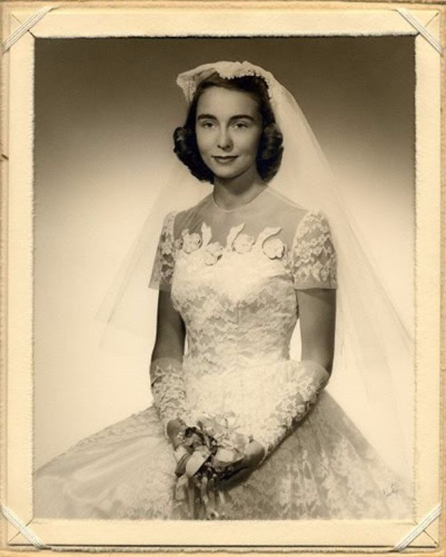 Vintage Wedding Dresses 1930 S 1940 S: Who Doesn't Love Old Wedding Snaps? Here Are 20 Lovely