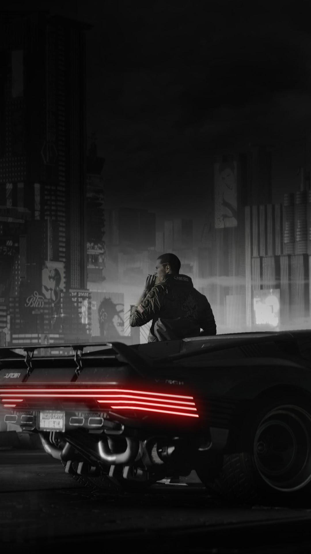 Cyberpunk 2077 V Car Quadra V Tech 4k Wallpaper 92
