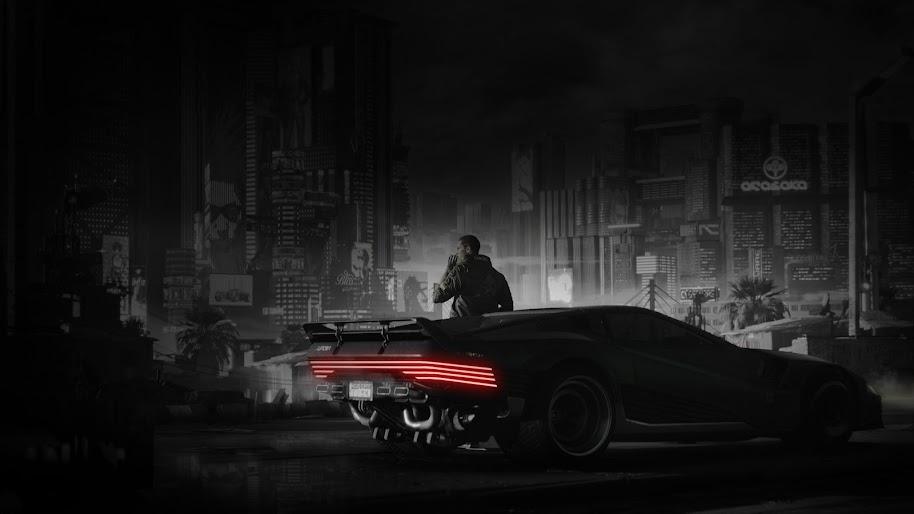 Cyberpunk 2077, V, Car, Quadra V-Tech, 4K, #92