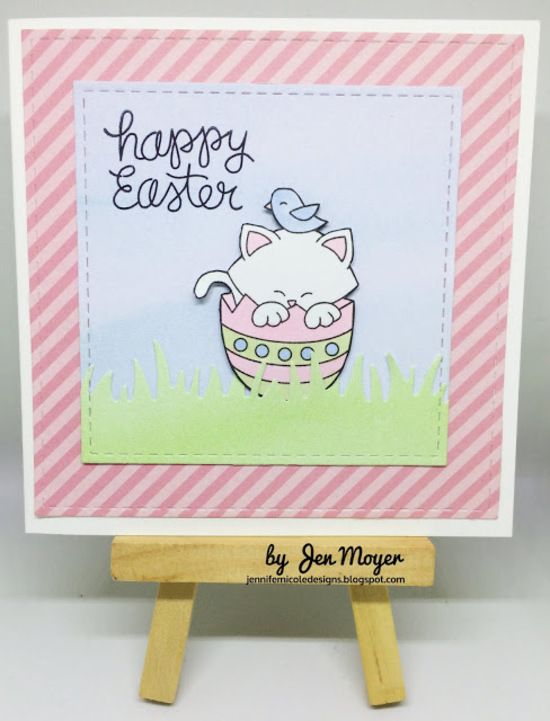 Happy Easter by Jennifer features Newton's Easter Basket by Newton's Nook Designs; #newtonsnook