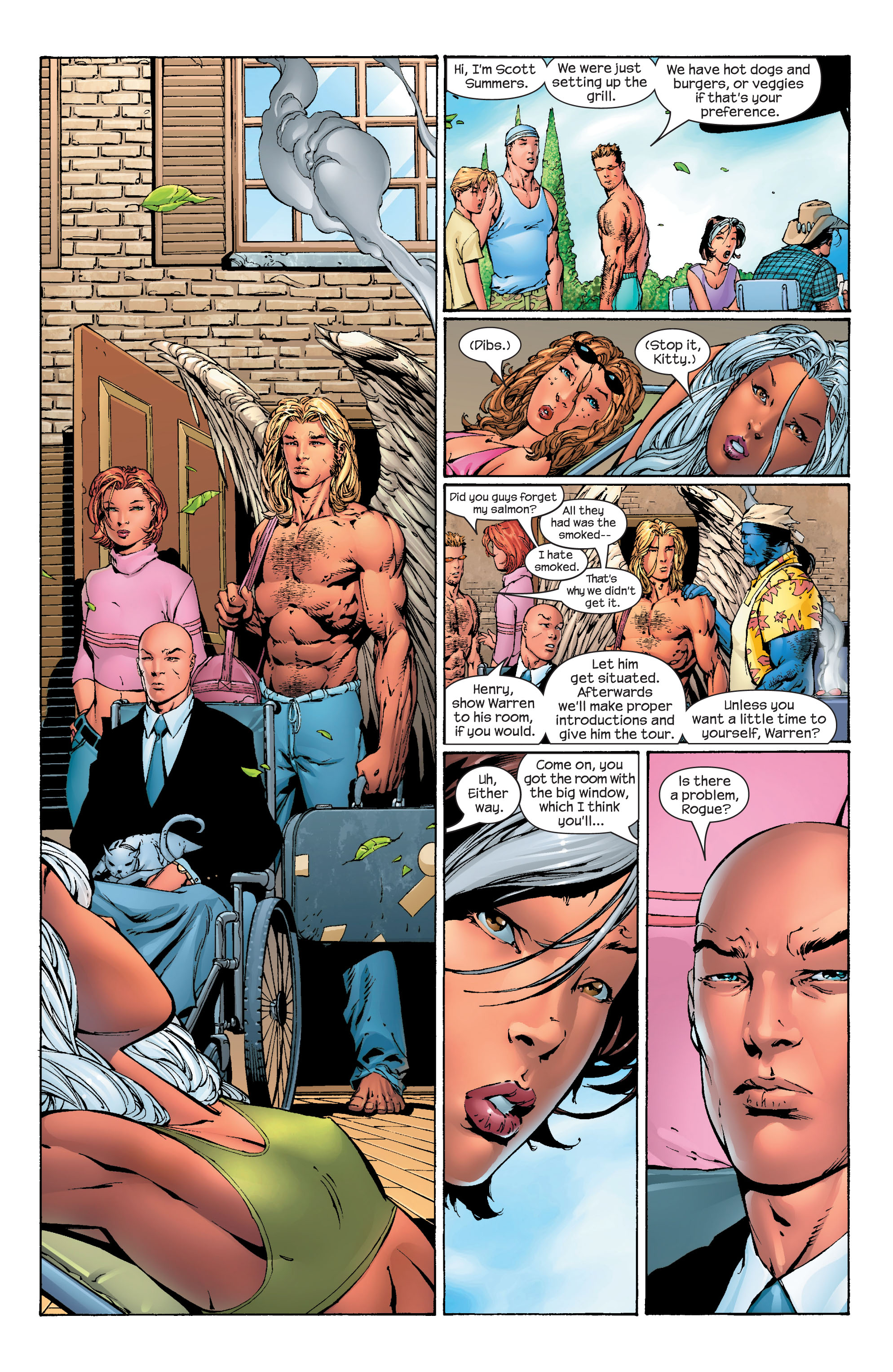 Read online Ultimate X-Men comic -  Issue #40 - 6