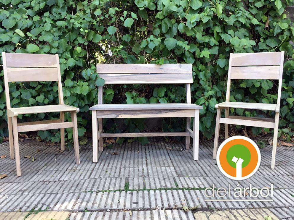 Banco de madera para exterior simple banco de madera para for Asientos terraza