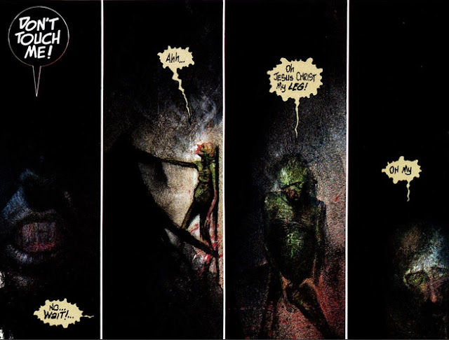 Review Batman Arkham Asylum 15th Anniversary Edition Grant Morrison Dave McKean DC Comics Clayface trade paperback tpb comic book