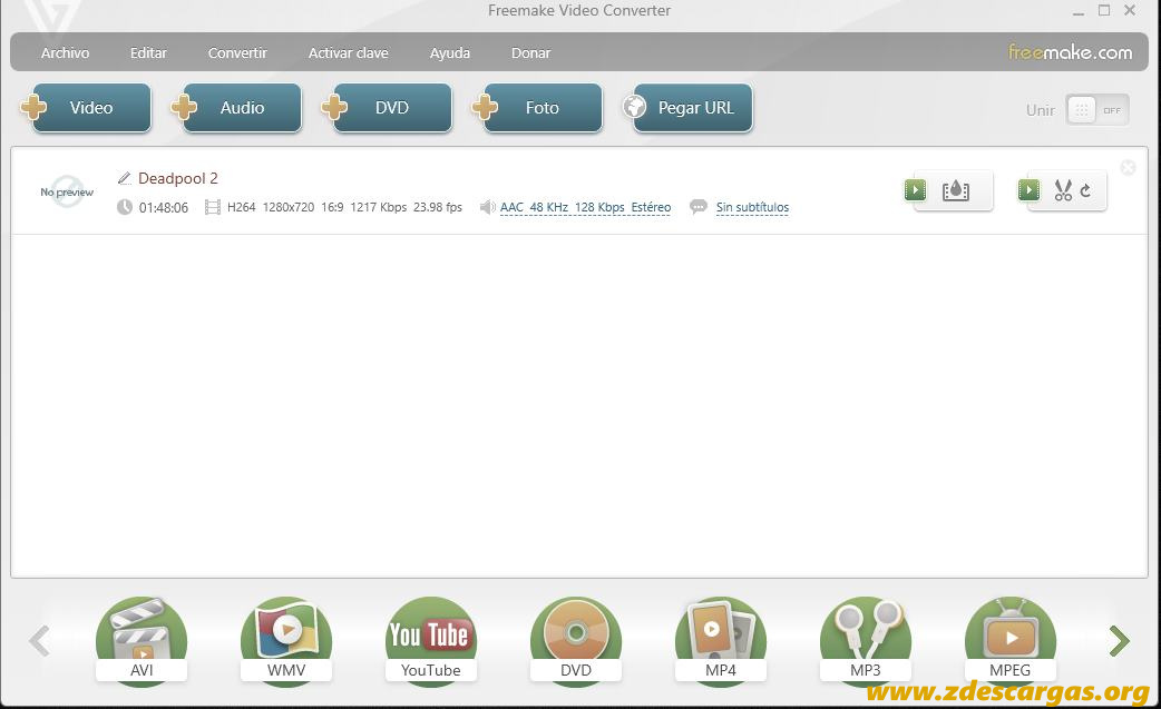 Freemake Video Converter Full Español