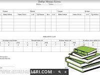 Download Contoh Format Tabel Buku Mutasi Siswa Lengkap