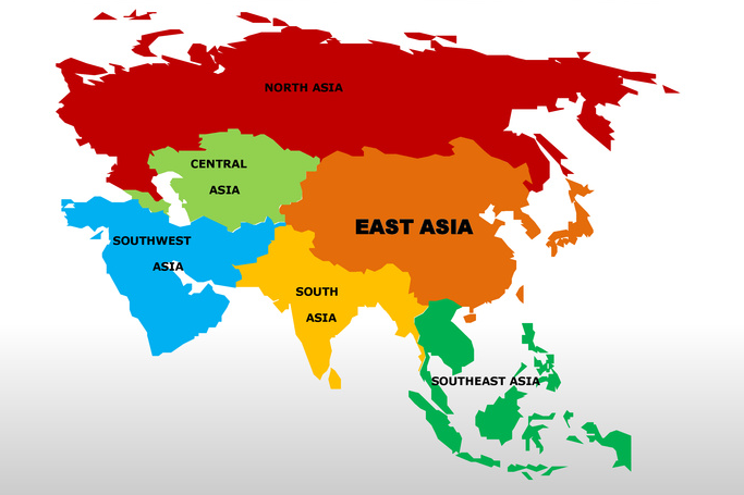A List Of Asian Countries 63