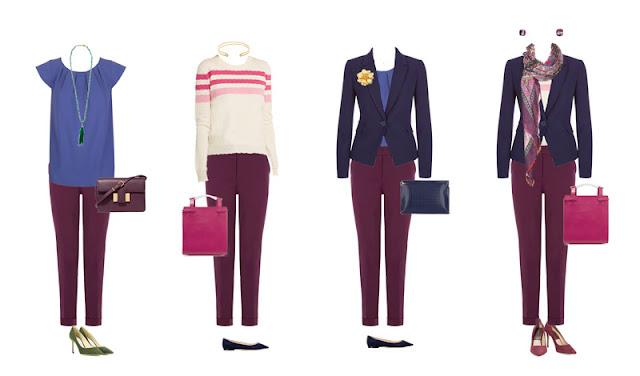Комплекты капсульного гардероба для офиса