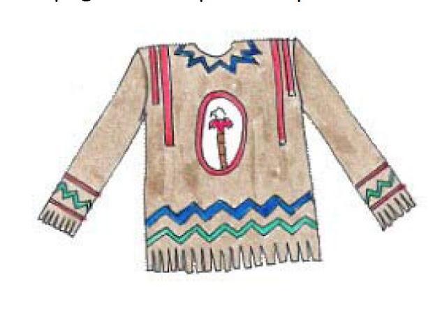 disfraz de indio hecho con papel pinocho