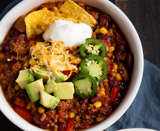 The Best Healthy Turkey Chili #recipe #healthy