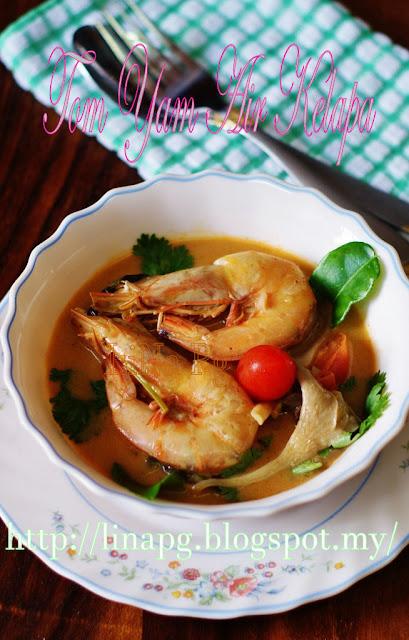 Tom Yam Air Kelapa sedap, Tom Yam Thai