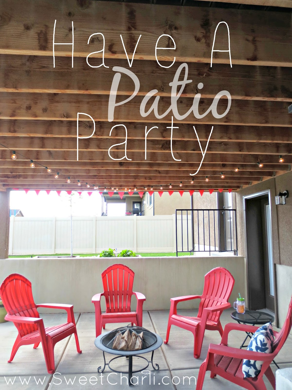 Reusable Bag to Outdoor Bunting for Patio Party  Sweet Charli