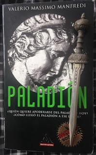Portada del libro Paladión, de Valerio Massimo Manfredi