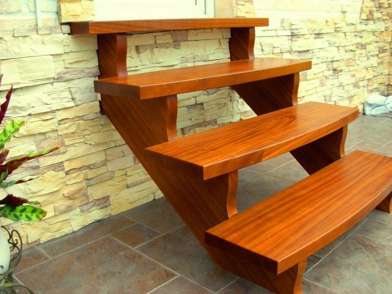 40mm eiche treppenstufen treppe durchgehende massiv holztreppe ebay. Black Bedroom Furniture Sets. Home Design Ideas